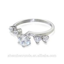 Proveedor de Alibaba 2014 anillo de compromiso del diamante de la manera