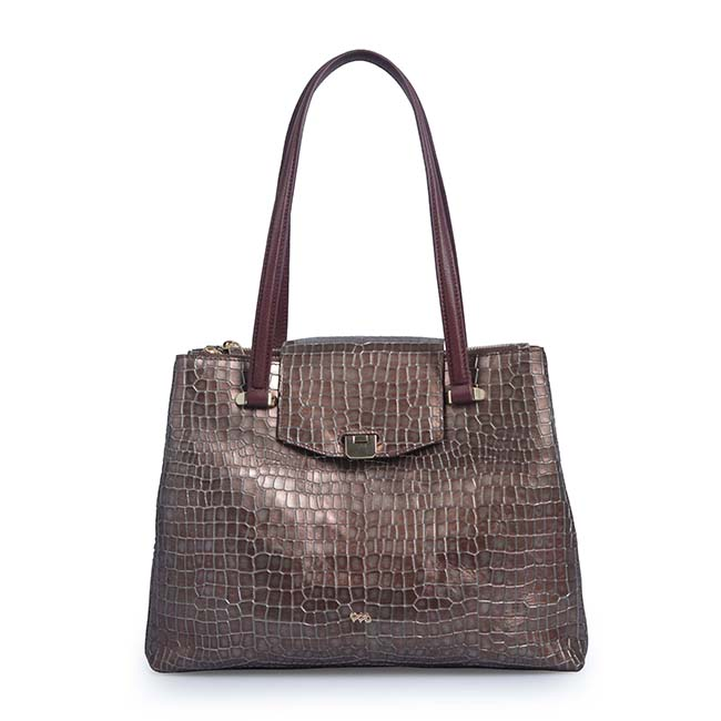 Genuine Crocodile Leather Handbag for Women