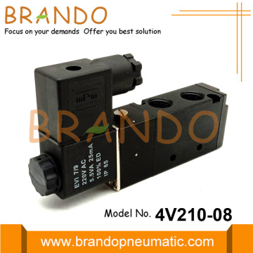 4V210-08 Electrovanne pneumatique 5 voies 2 positions