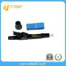Быстроразъемный соединитель оптического волокна SC / UPC