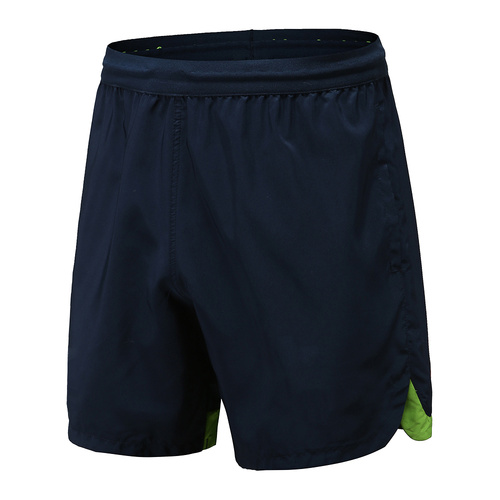 Short Dry Fit Rugby Wear Homme Bleu Marine