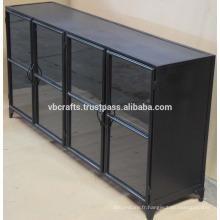 Cabinet de métal vintage industriel