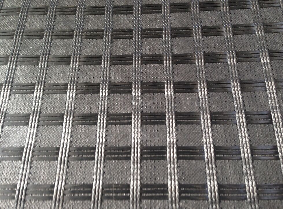 Asfaltinterlayer Glasfiber Geogrid Composites