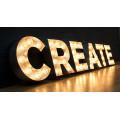 Neues kundenspezifisches LED-Kanal-Buchstabe-Schild-Birnen-Buchstabe-Zeichen