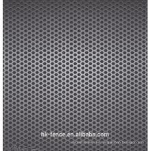 placa de acero inoxidable de 3 mm de espesor 50% apertura tasa de perforación agujero de malla