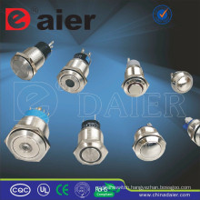 Daier ring led waterproof push button switch