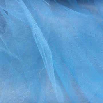 100% polyester 12-14 g / m2 tulle doux