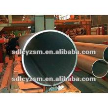 tuyau de fer noir de grand diamètre