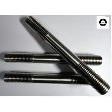 DIN835 двойной конец шпильки черные болты