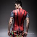 Custom Sublimation Printed Unisex Lycra Anti-UV Rashguard Men MMA Rash Guard