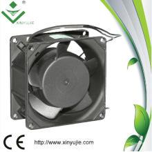 80 mm impermeable IP65 uso al aire libre 80 * 80 * 38 mm 220 voltios AC Fan
