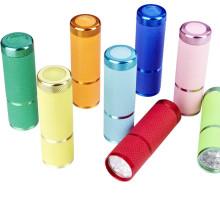 Linterna de aluminio de la batería seca del LED