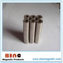 Imán de anillo de neodimio de alto rendimiento N50 / N50m Mgoe