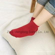 Sudor colorido niña algodón calcetines medias de buena calidad entrega rápida
