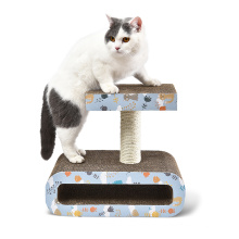 Removable Paper Sisal Material Cat Scratching Board Scratcher Toy Cardboard