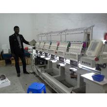 Misturado 9 agulhas 6 cabeças de lantejoulas bordado máquina Wy906c