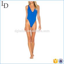 Pantalla azul de dos maneras llevar traje de baño bikiní 2017 chica sexy desgaste joven