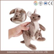 Custom 20cm Animal Toy,Cute Mini Australia Baby Kangaroo for Kids