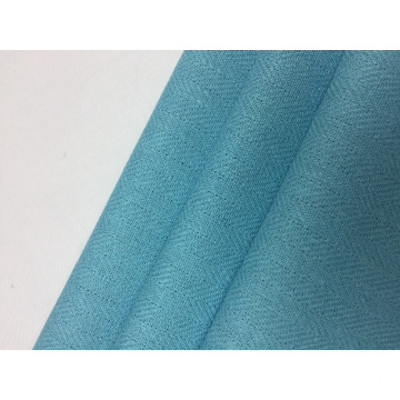 10er Jahre Rayon Leinen Twill Solid Fabric