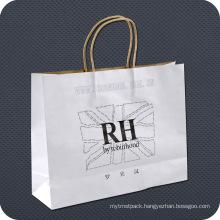 Printed Retail Kraft Paper Bag for Garments