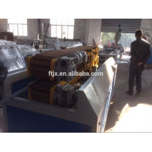 steel plastic corrugated pipe equipment, pipeline production line