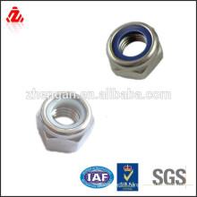 Factory custom stainless steel spiral lock nut