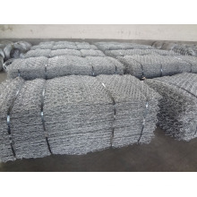 Double Twisted Galvanized Hexagonal Mesh Gabion Baskets