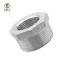 buena calidad de Acero Inoxidable 304 Reducir la conexión de tubería hembra / macho recta