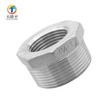 good quality 304 Stainless Steel Reducing straight female/male pipe fitting