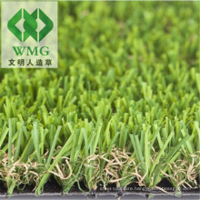 Garden Decoration and Landscape 4 Tones Monofilament PE Straight & PP Curly Artificial Turf/Artificial Grass Tile
