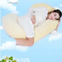 Almofada de apoio do corpo mais suave em forma de C mulher grávida