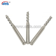 Tungsten Carbide 2 Flute Square End Mills for Cutting Aluminum Alloy HRC55