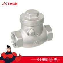 """Válvula de retenção de ar de válvula de retenção Swing SS316 Cf8m de 1/2 """"a 2"""" na válvula TMOK"""