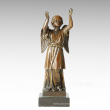 Mythology Statue Hope/Wish Bronze Myth Sculpture TPE-362