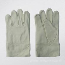 Ziegenleder Ungefütterter WIG-Schweißhandschuh Schutzhandschuh-7335