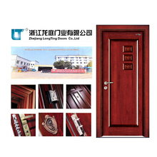 Puerta de madera interior de lujo (LTS-405)