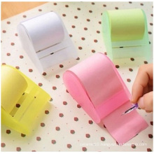 Transparent PP Box Sticky Notes, Sticky Notes Tape