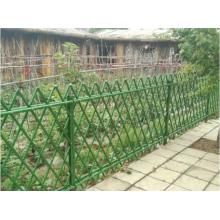 Nuevo diseño cerca de jardín de bambú artificial cerca