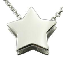 Star Pendentif Logo laser Pendentif DIY Mode Jewellry