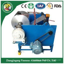 Cortadora y rebobinadora de papel de aluminio con mejores ventas de alta calidad