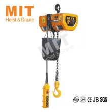 New Arrival OEM Design 1 ton electric chain hoist from China manufacturer
