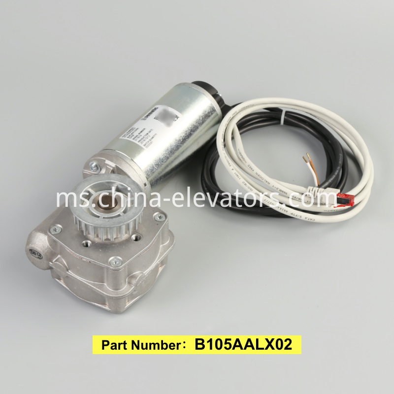 Sematic B105AALX02 Car Door Motor for Schindler Elevators