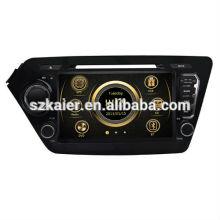 Фабрика прямой автомобиль мультимедиа для Kia К2/Рио 2011-2012 с GPS/Bluetooth/Рейдио/swc/фактически 6 КД/3G интернет/квадроциклов/ставку/видеорегистратор