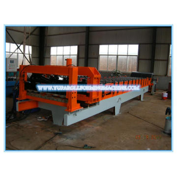 YF Zinc-coated Glazed Tile Roofing Sheet Roll Forming Machine