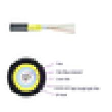 Cabo de fibra óptica JET figura 8 cabo de fibra de núcleo de cabo de fibra óptica interna ao ar livre