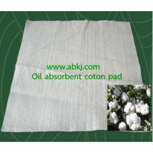 Almofada de algodão não-tecido absorvente de óleo / Almofada absorvente de óleo