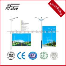 200 watt led light with galvanized steel light pole