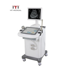 CE ISO approved ultrasound equipment mobile veterinary ultrasound machine trolley