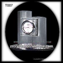 Wonderful K9 Crystal Clock T007