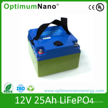 Deep Cycle 12V 25ah Lithium Battery for Lawn Light